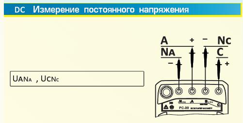 DC измерение пост. тока