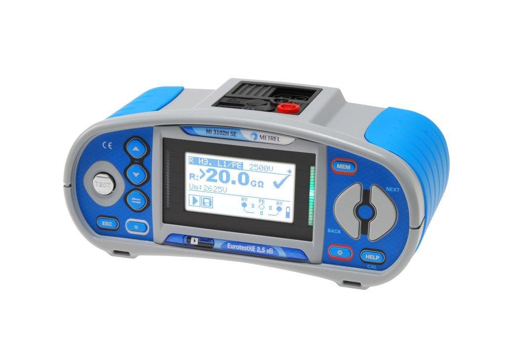 Metrel MI 3102H SE EurotestXE 2,5 кВ многофункциональный измеритель параметров электроустановок