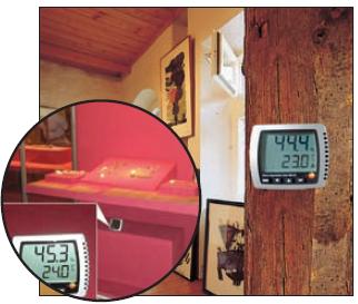 Термогигрометр TESTO 608 h1 (h2) в музее живописи